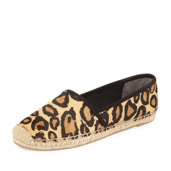 344e741ecdf07e Sam Edelman Leopard Espadrille Flats. M 5bc674be4ab633c858f89806